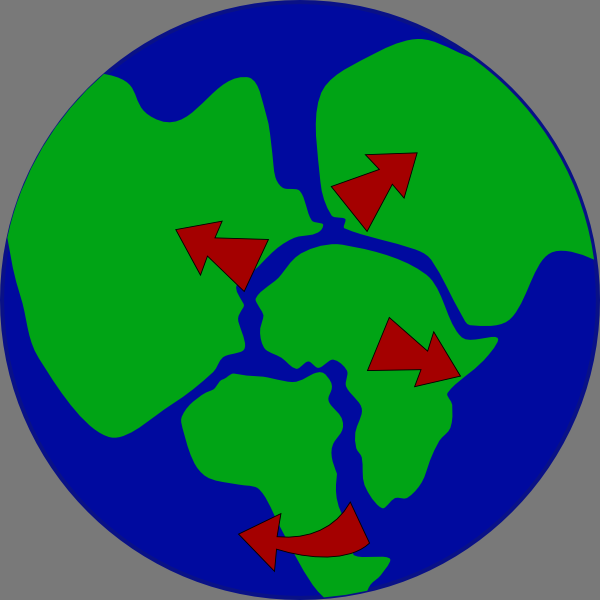 600x600 Globe clipart continent