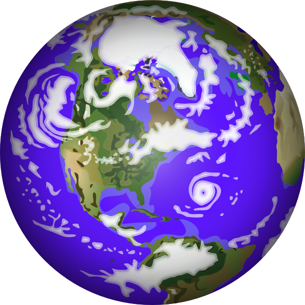 600x600 Earth Free To Use Clip Art