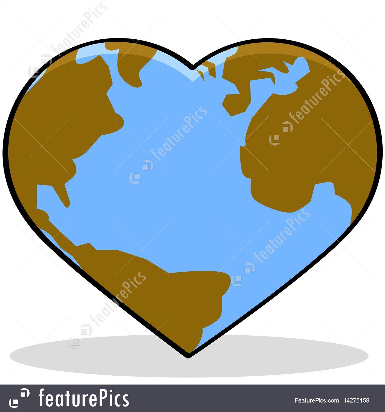 1300x1392 Illustration Of Love Earth