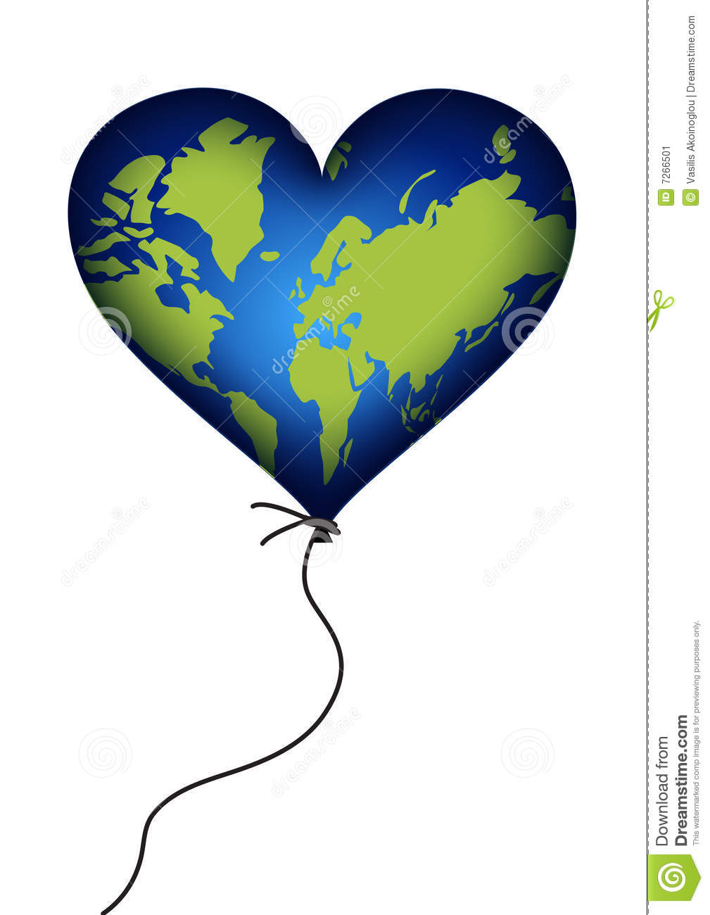 Earth Heart Clipart | Free download on ClipArtMag