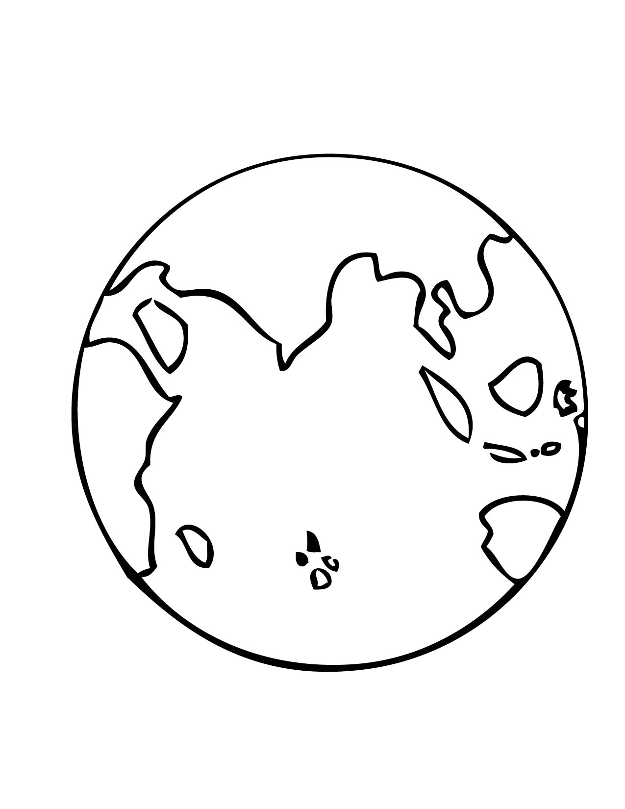 Earth Printable | Free download best Earth Printable on ClipArtMag.com