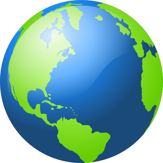 555x555 Planet Earth Clipart