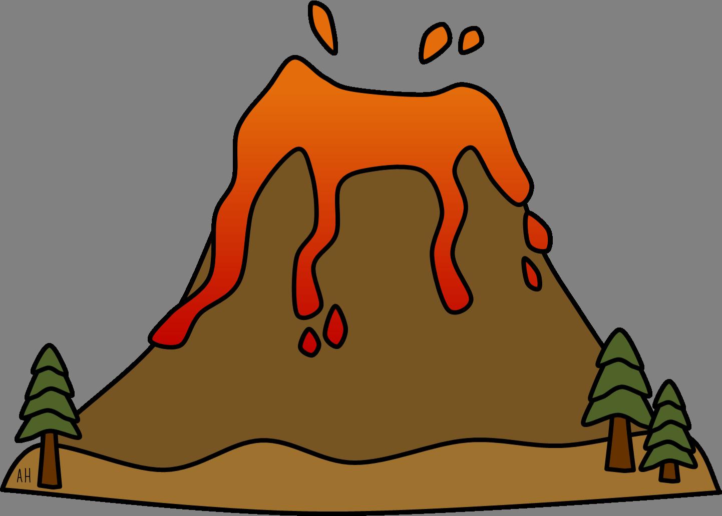 1442x1032 Earthquake Clipart Volcano