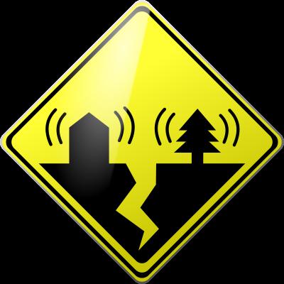 400x400 Free Clipart Earthquakes