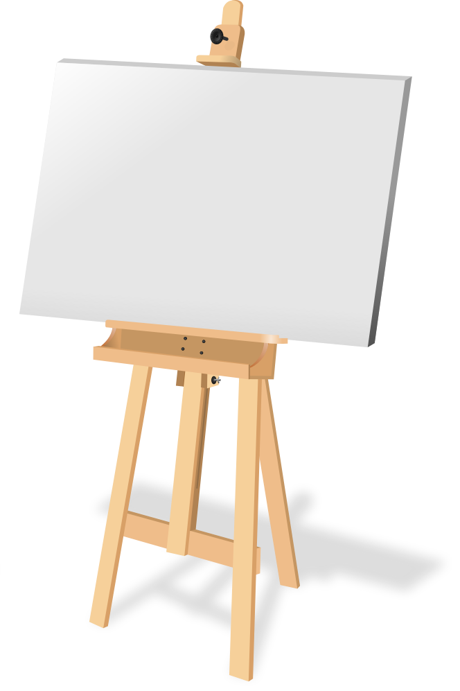664x997 Free To Use Amp Public Domain Easel Clip Art
