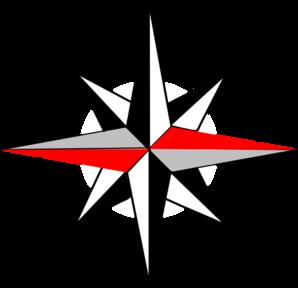 298x288 East West Compass 12 Clip Art