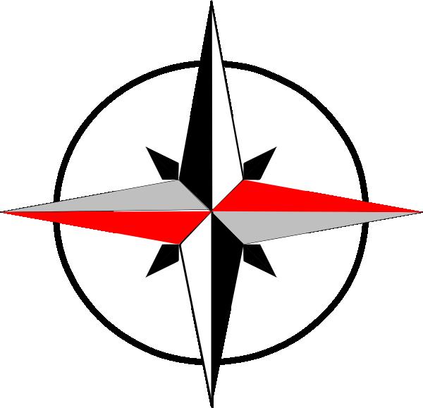 600x579 East West Compass Final Clip Art