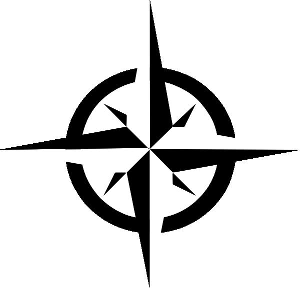 600x577 East West Compass Ten Clip Art