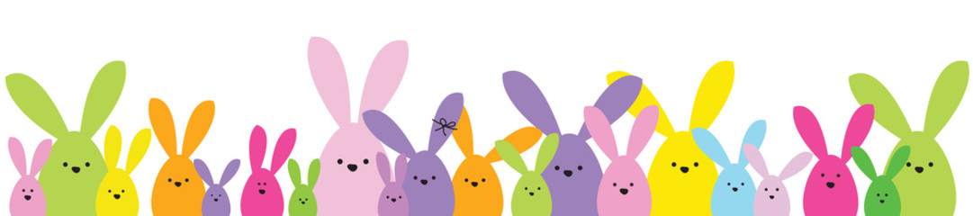 1081x240 Easter Banner Clipart