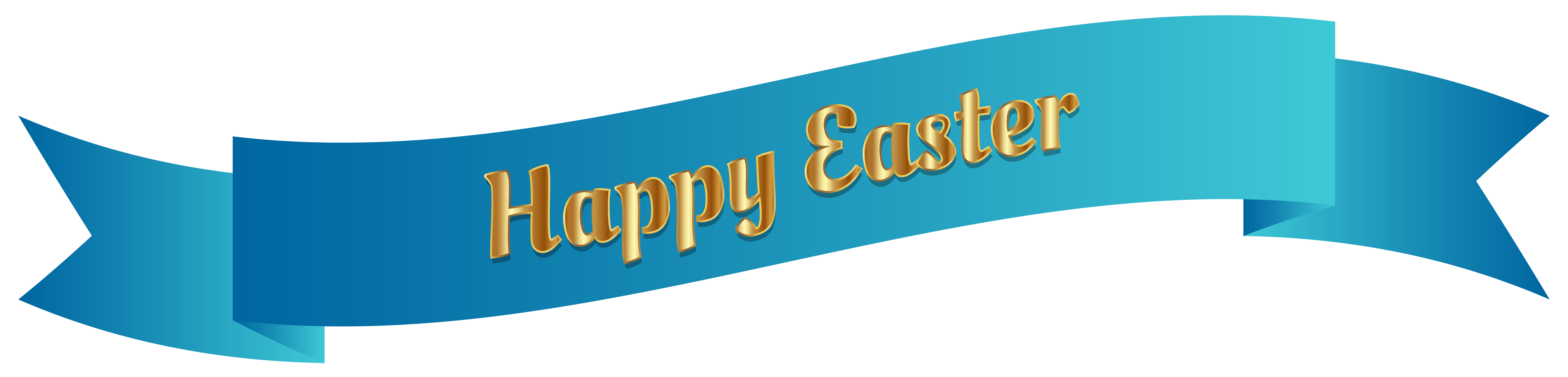 8000x1923 Easter Banner Clipart