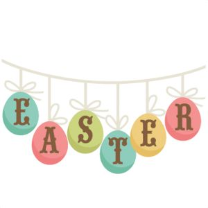 300x300 Easter Clipart Banner