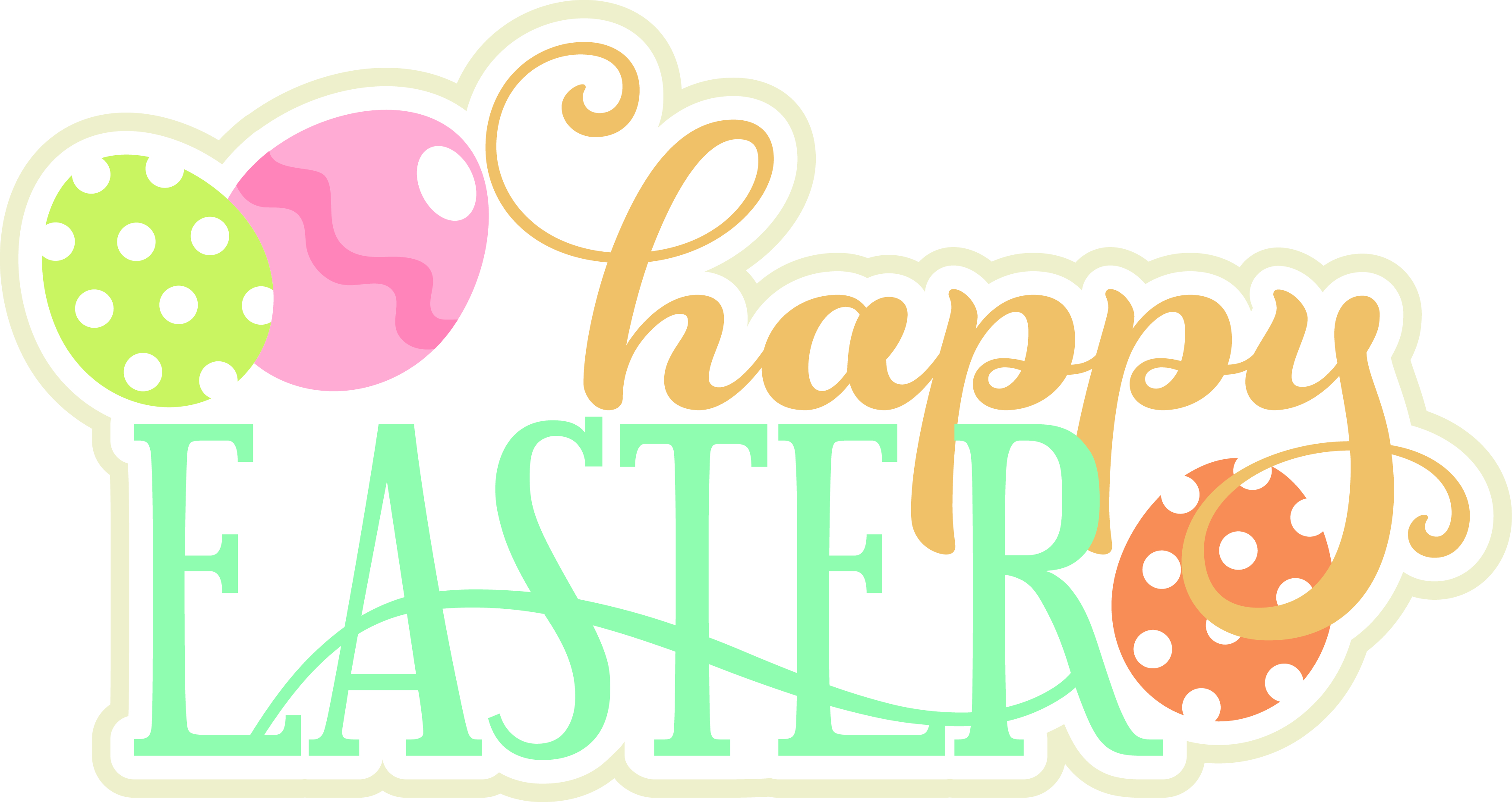 3503x1860 Miss Kate Cuttables Happy Easter Card My Sisters Scrapper