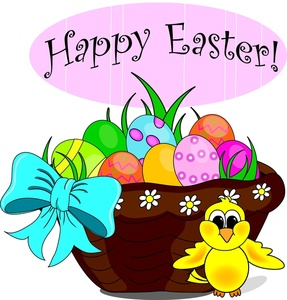 287x300 Easter Banner Cliparts