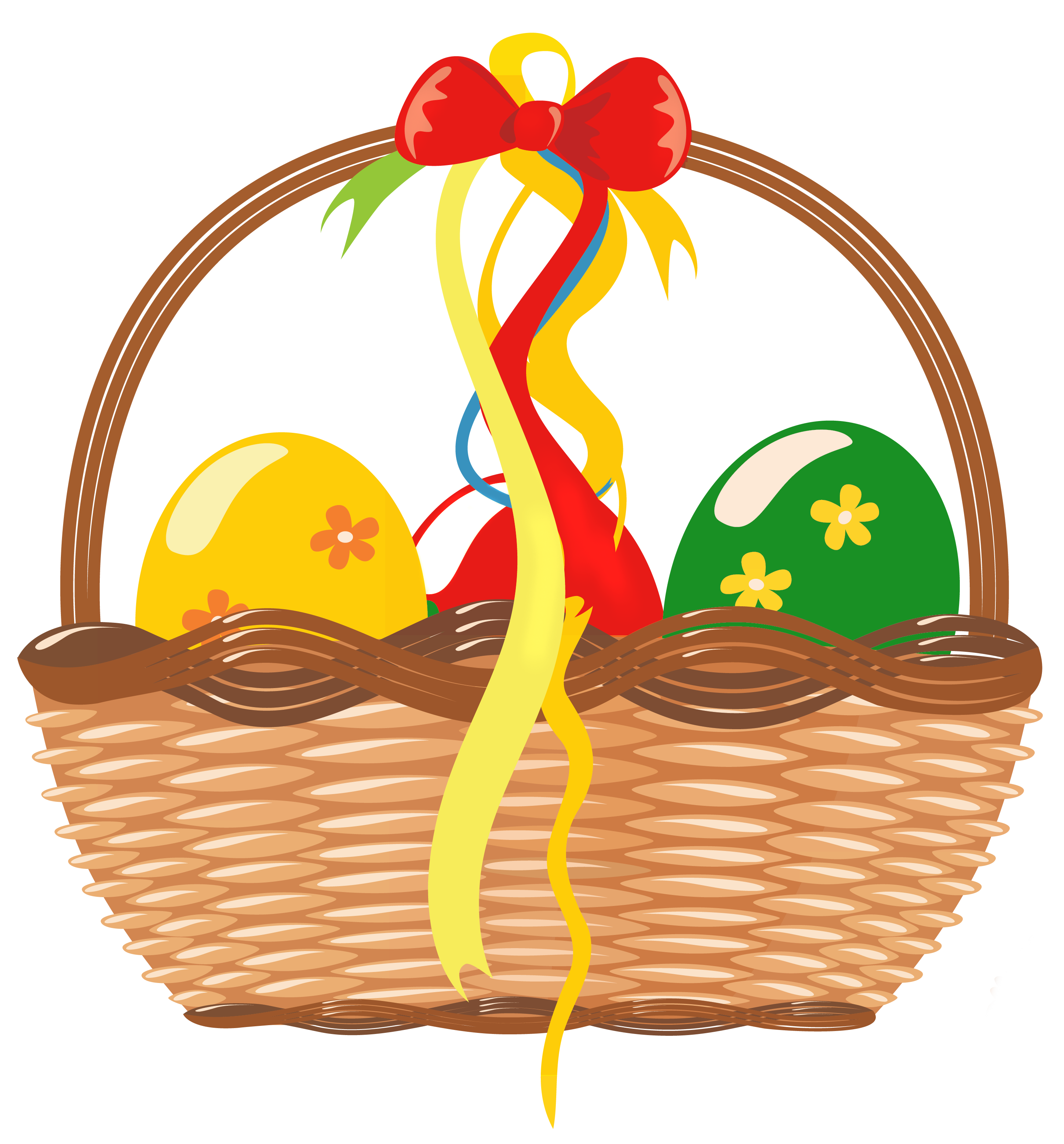 2900x3119 Easter Basket With Eggs Png Clipart Pictureu200b Gallery
