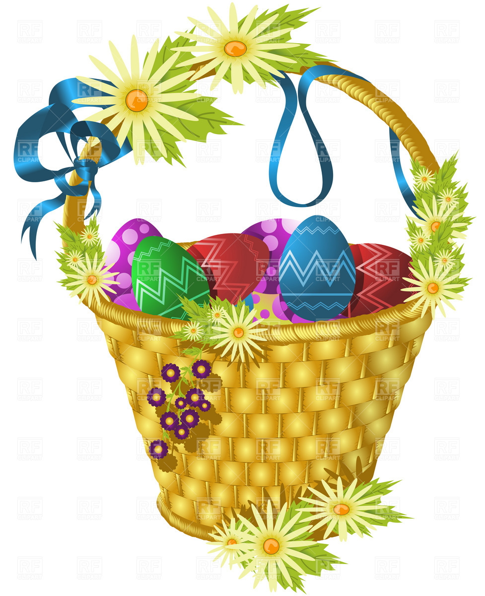 Easter Basket Clipart | Free download on ClipArtMag