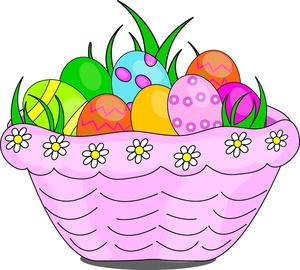 300x270 Free Easter Basket Clipart Image 0515 1003 2004 3423 Easter Clipart