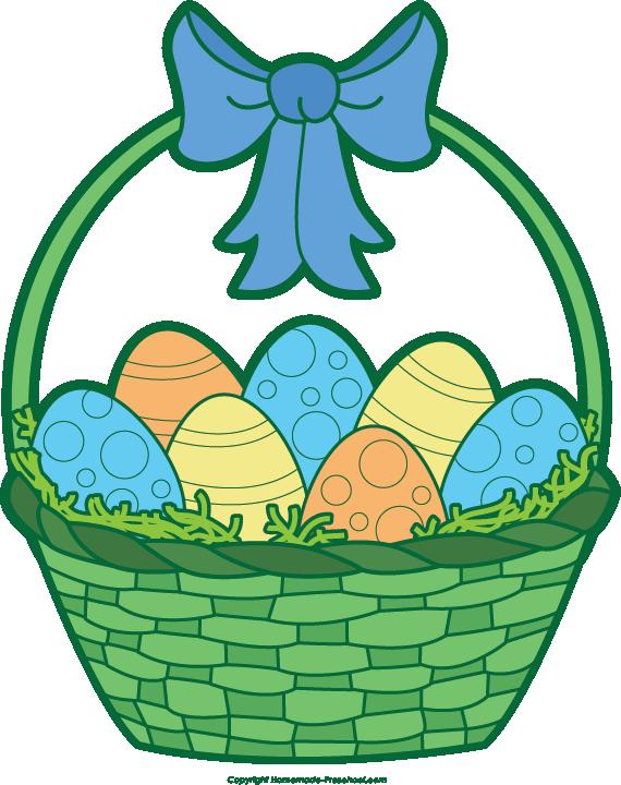 570x720 Gift Basket Easter Basket Clip Art 5