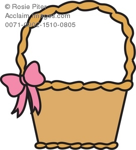 271x300 Illustration Of An Easter Basket