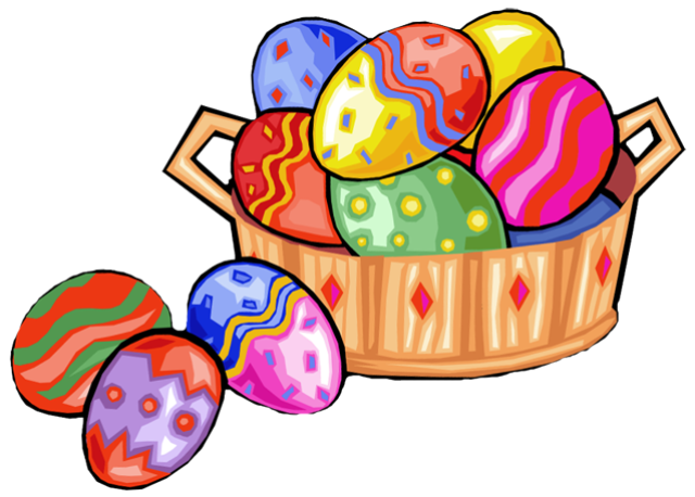 640x458 Web Design Clip Art, Easter And Easter Baskets