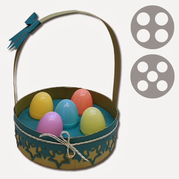 600x600 Bits Of Paper 3d Easter Baskets And Handled Pillow Box