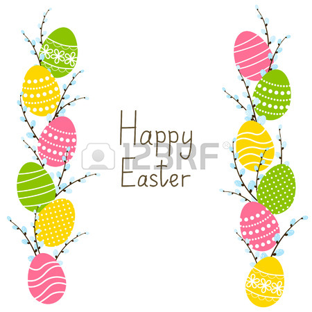 450x450 12,818 Easter Border Stock Illustrations, Cliparts And Royalty
