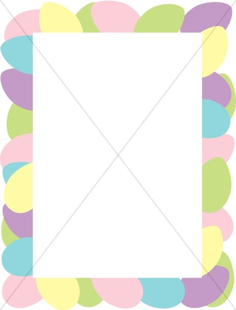 465x612 Easter Border Clipart Easter Borders