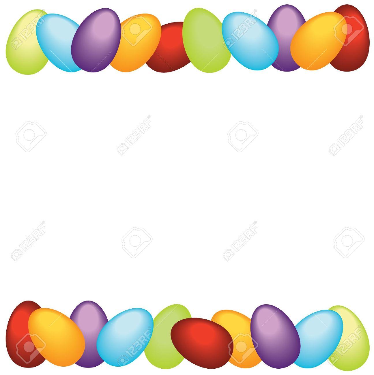 1296x1300 Easter Corner Borders Clip Art Happy Easter 2017