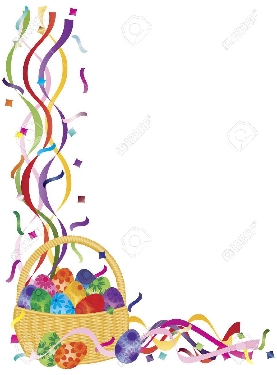 962x1300 Easter Basket Borders Happy Easter 2017