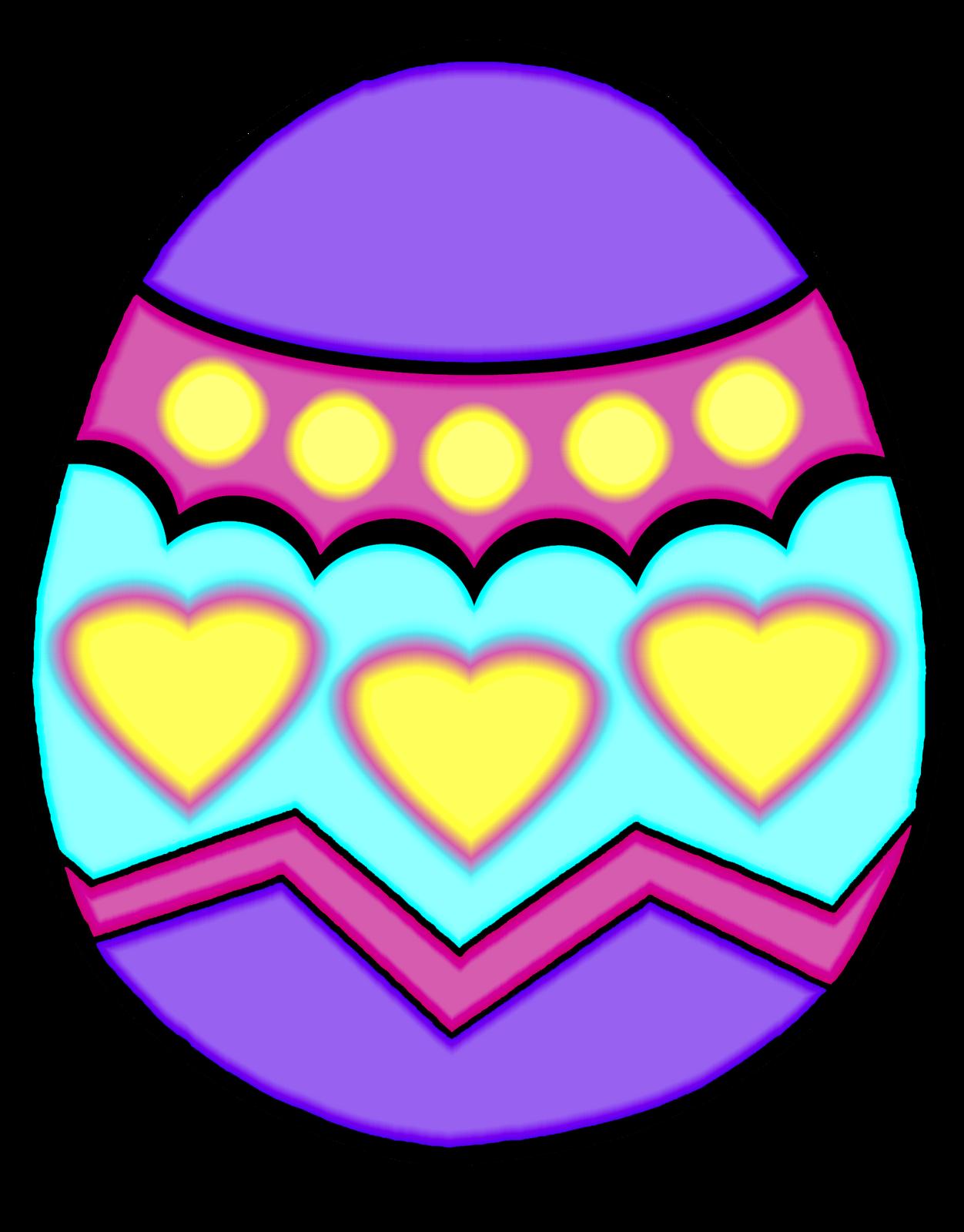 1252x1600 Easter Egg Clip Art Border Clipart Panda