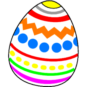 300x300 Easter Egg Border Clipart Free Images