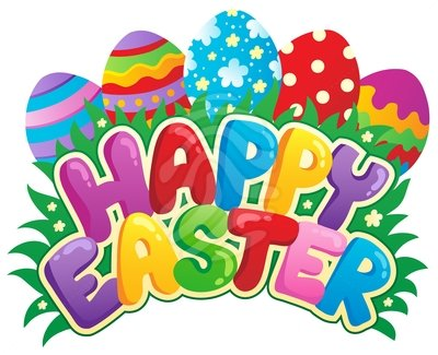 400x325 Free Easter Clip Art Borders Clipart Image