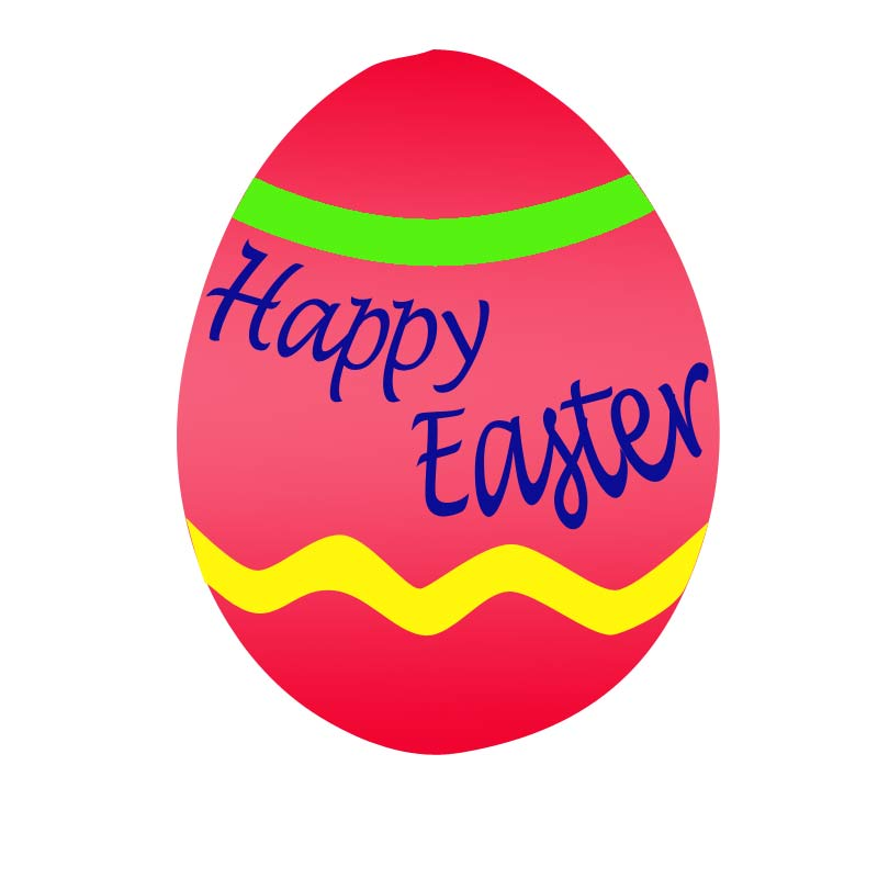 800x800 Easter Eggs Clipart