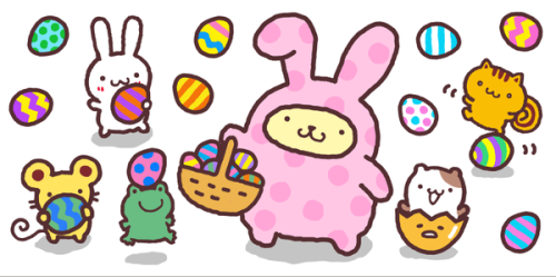 500x249 Free Easter Eggs Clipart