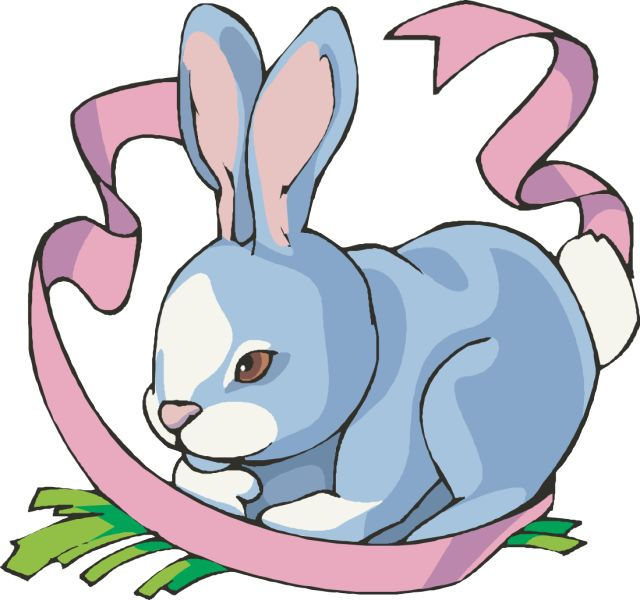 Easter Bunnies Clipart