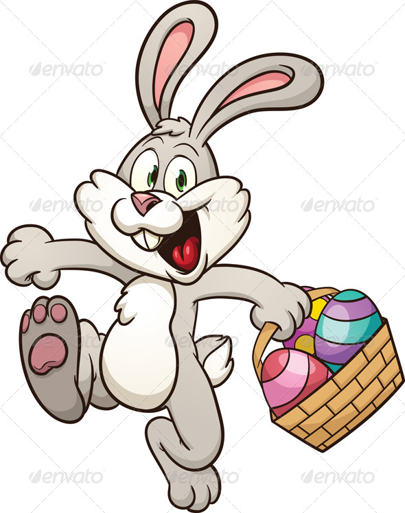 590x748 Easter Bunny By Memoangeles Graphicriver