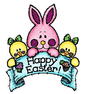 300x320 Moving Clipart Easter Bunny