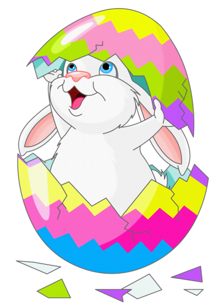 428x600 Chick clipart easter bunny