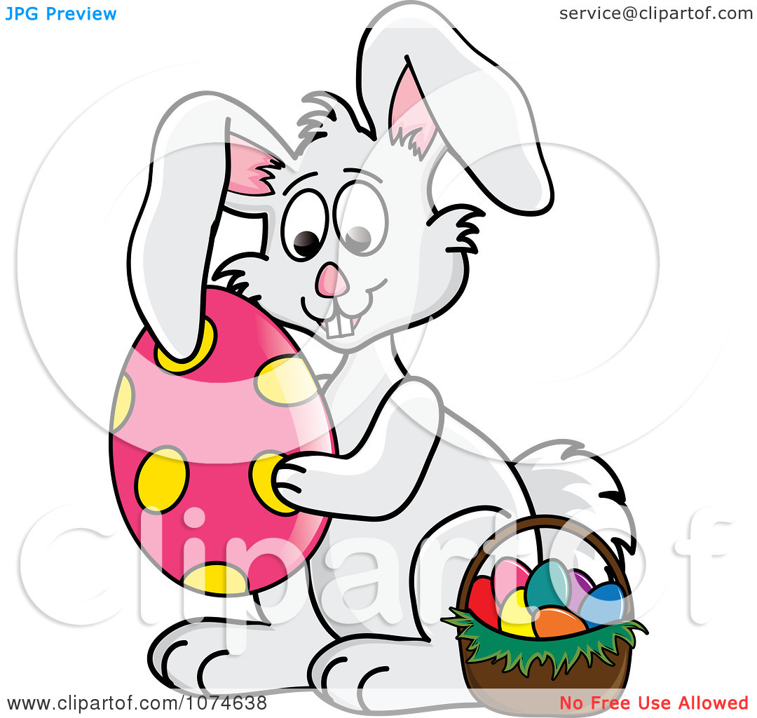 1080x1024 Clip Art Easter Bunny Chadholtz
