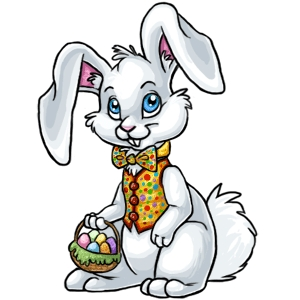 300x300 Easter Bunny Clip Art Animated Free Clipart Images