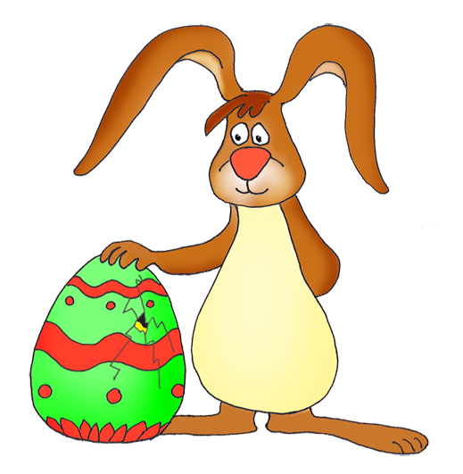 519x531 Funny Easter Bunny Clipart 2