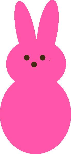 276x593 Pink Peep Clip Art