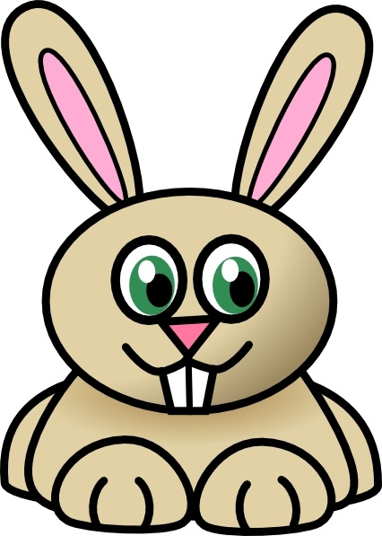 426x597 Rabbit Clip Art Free Vector In Open Office Drawing Svg ( Svg