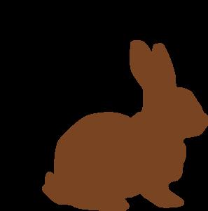 297x300 Chocolate Easter Bunny Clip Art