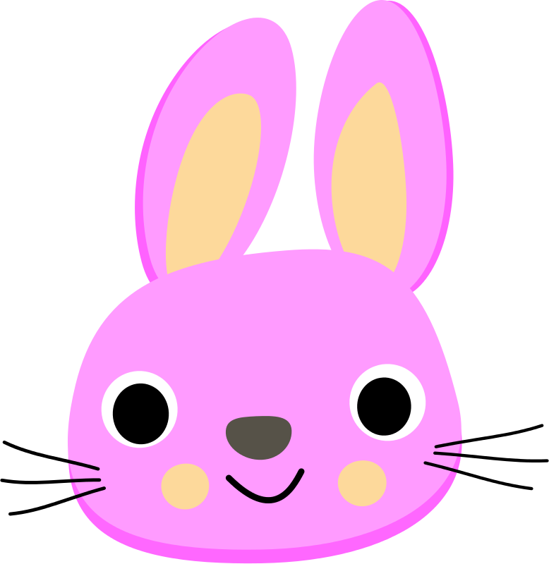 778x800 Face Clipart Rabbit