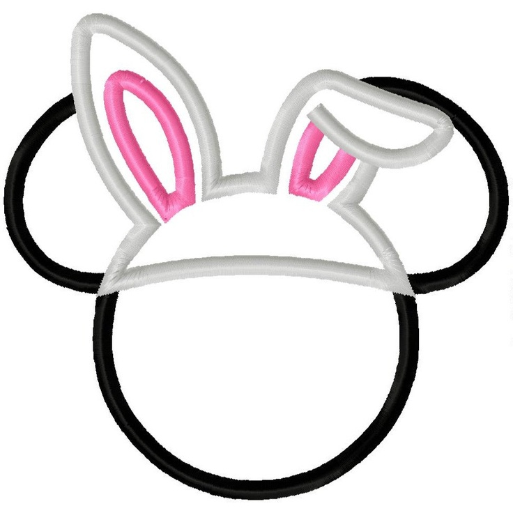 736x736 Mickey Mouse Easter Clipart