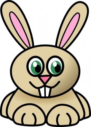 303x425 Rabbit Face Clip Art