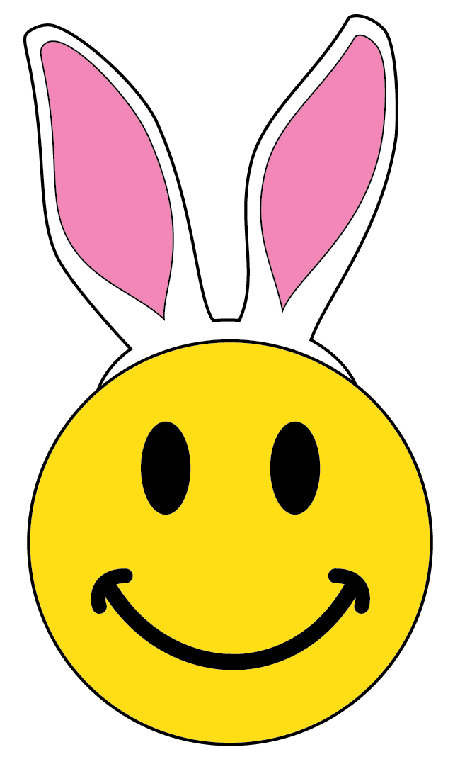 650x1085 Face Clipart Happy Easter