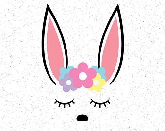 340x270 Bunny Face Etsy