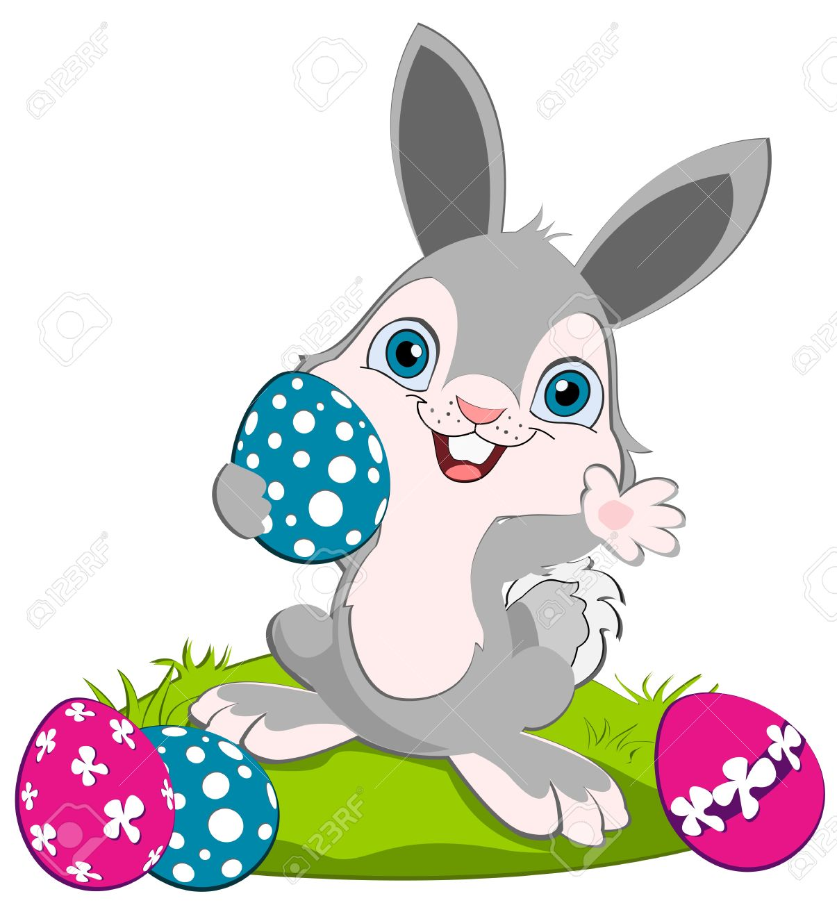 April bunny. Easter pictures free download