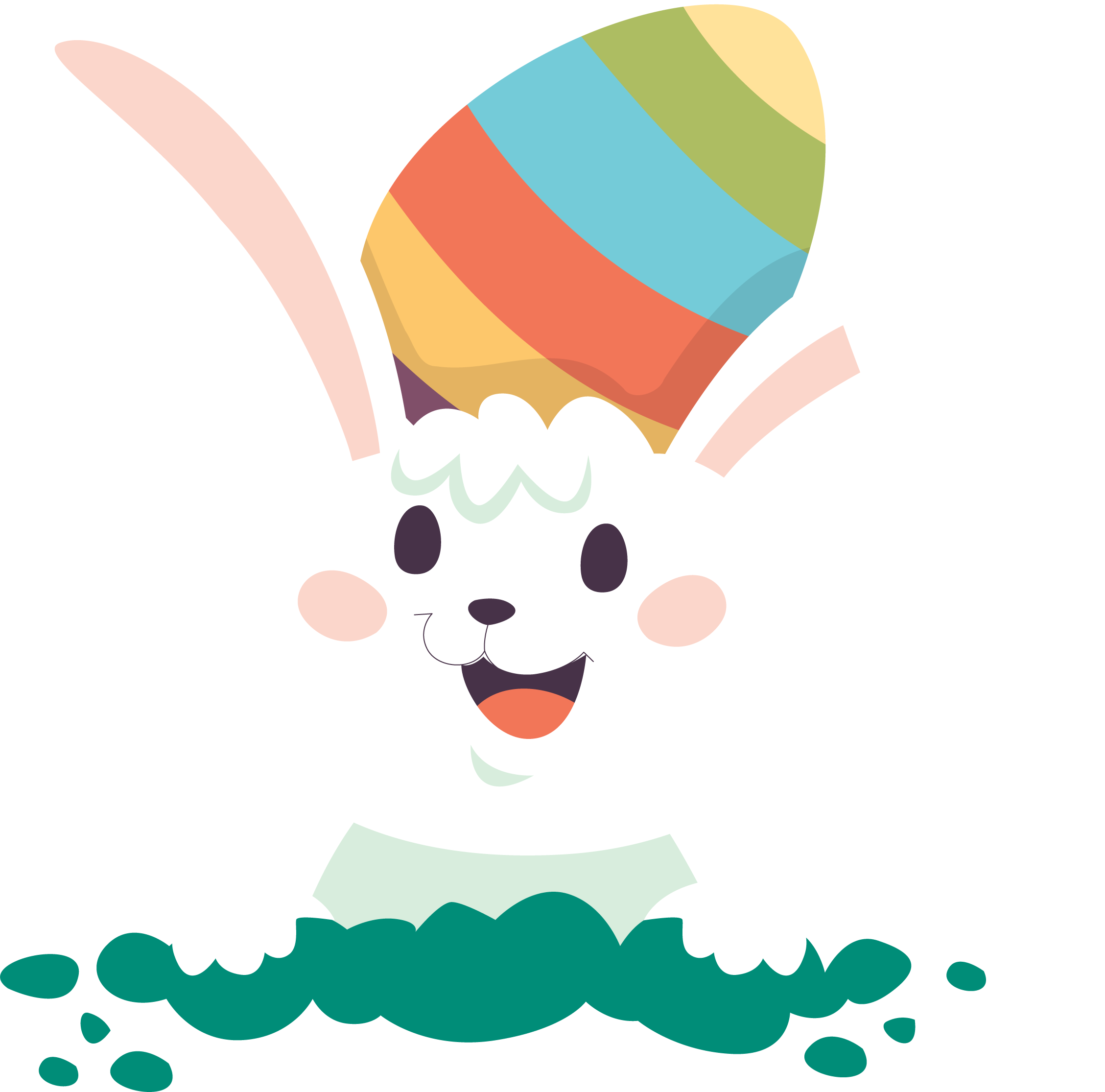 Easter Bunny Png   Free download on ClipArtMag